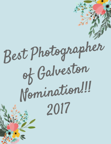 We Are in the Top Best Photographers in Galveston! Go Vote Now!